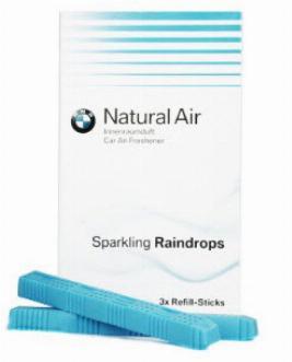 Фото Комплект сменных картриджей освежителя воздуха BMW Sparkling Raindrops 83122285679