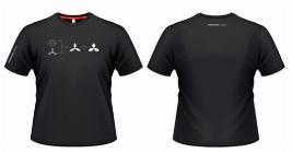 Фото Футболка мужская черная, размер XL RU000009XL
