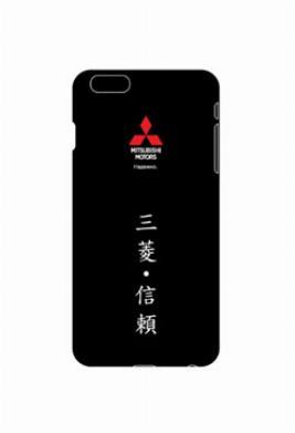 Пластиковый чехол-крышка Mitsubishi для iPhone 6 PLUS RU000026