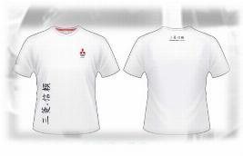 Фото Женская футболка Mitsubishi, размер L RU000012L