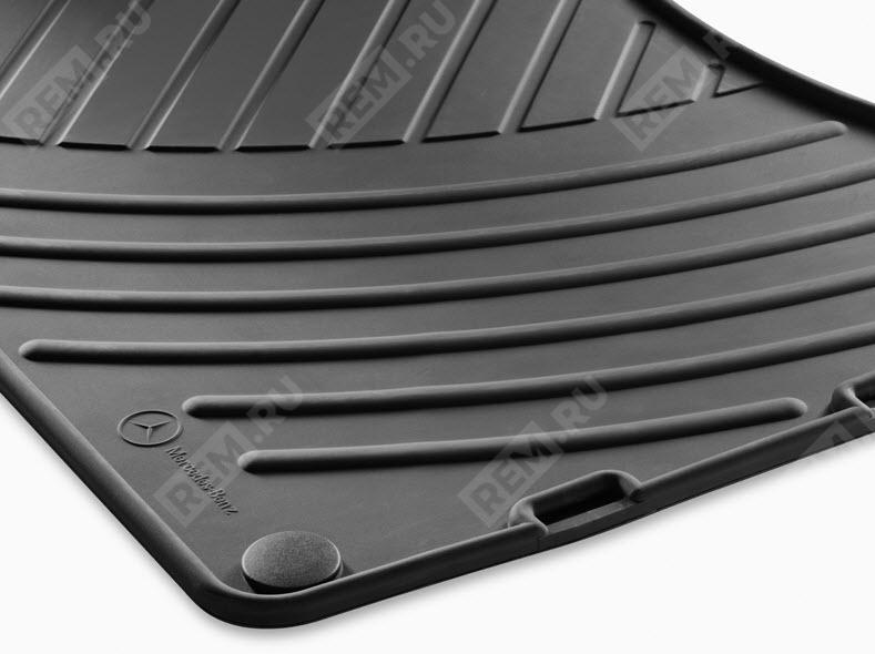 Комплект резиновых ковров Mercedes-Benz, черные B66688309