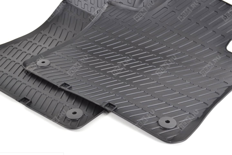 Ковры резиновые Audi, передние 8P1061501041