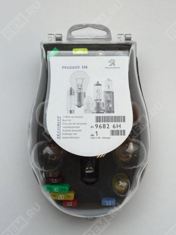 Набор запасных ламп H4 96826H