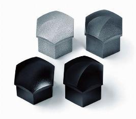 Колпачки для колесных болтов, серебристо-серый глянец 1Z0071215UZ7