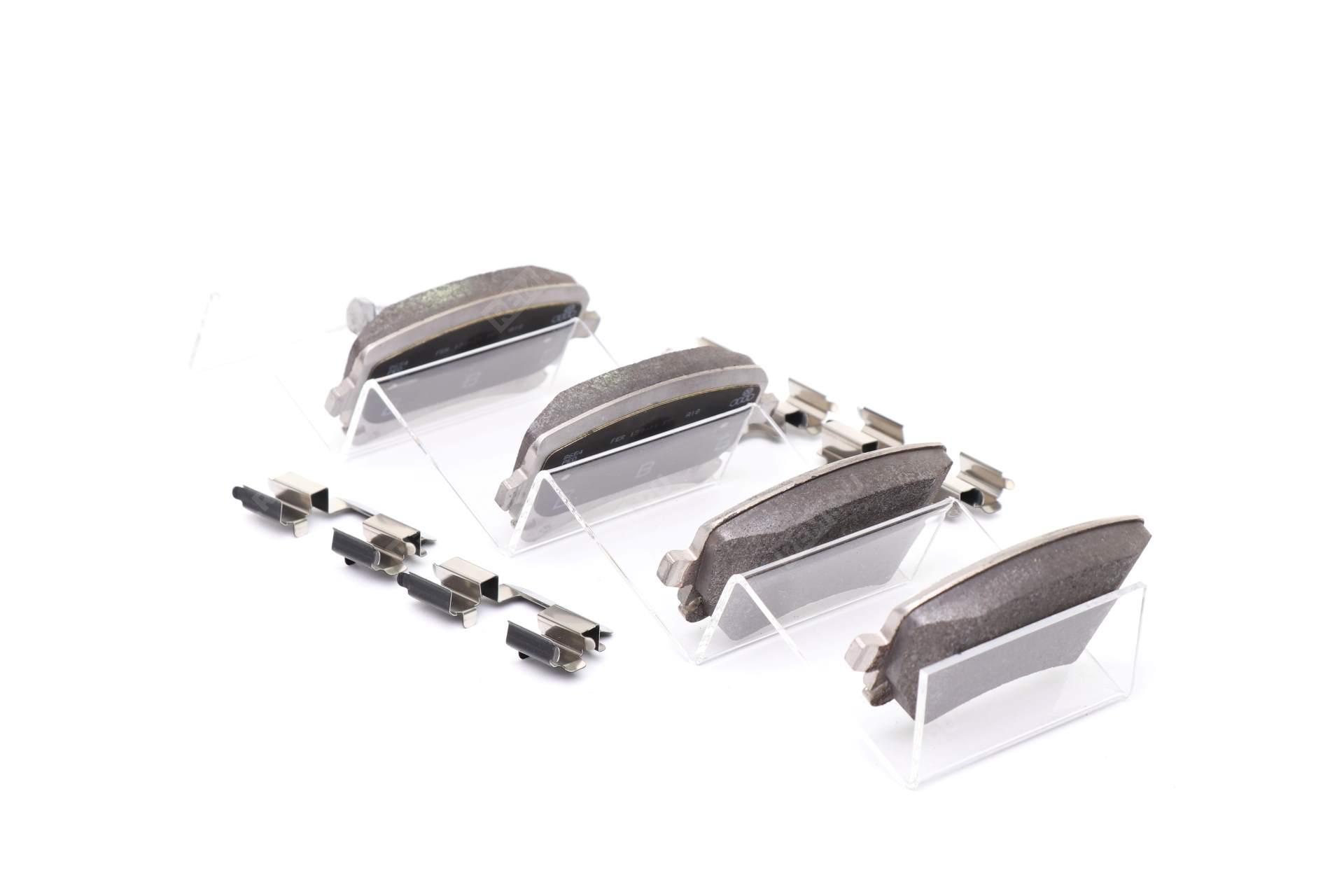 Колодки тормозные задние 4F0698451F
