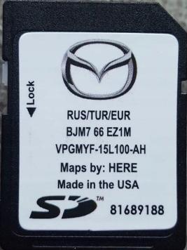 Фото SD карта для навигационной системы BJM766EZ1M