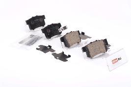 Фото Колодки тормозные задние 43022S5AE50