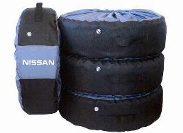 Фото Комплект чехлов для колес Nissan 999WHCNIS00