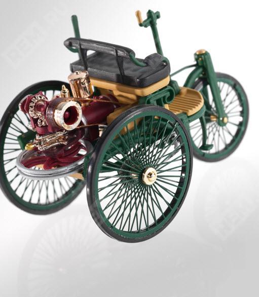 Модель авто Mercedes «Патент-моторваген» Бенца (1886) B66040464