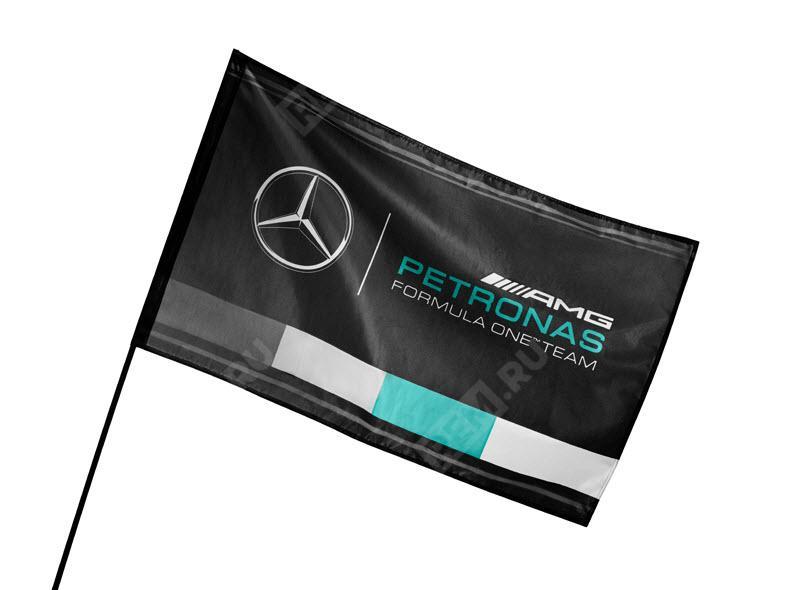 Фото Флаг Mercedes-Benz AMG PETRONAS B67997323