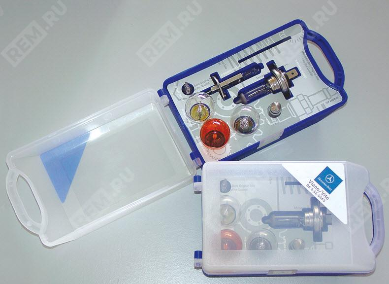Набор запасных ламп Mercedes B66560404