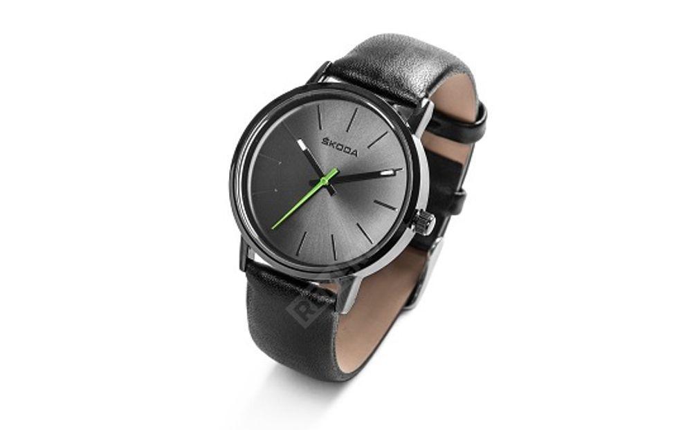 Фото Часы женские Skoda, черные 000050801L