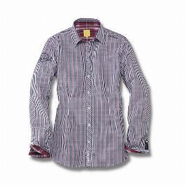 Фото Женская клетчатая рубашка Beetle, размер S 5C0084262AWU8