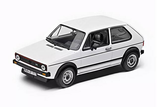 Модель авто Volkswagen Golf GTI 1976, 1:43 173099300B9A