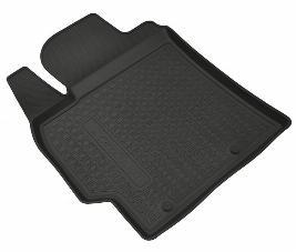 Комплект резиновых ковров салона с бортом, черные (5 мест) PZ4N1J2350RJ