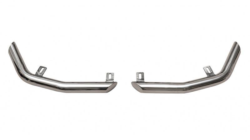 Фото Защита задняя уголки D51 мм, нержавеющая сталь 99999901009800