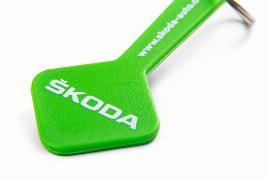 Фото Брелок Skoda c чипом для покупочной карты 000087703KK