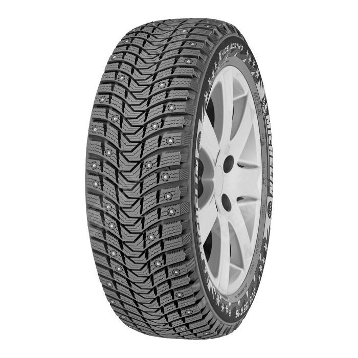 Фото Автошина, XL, зимняя, шипованная, Michelin X-Ice North 3, 235/45R17 97T 822813