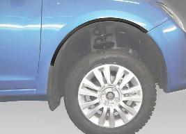 Накладки на колесные арки, передние 7711547227