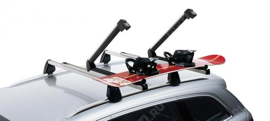 Крепление для перевозки 6-ти пар лыж или  4-х сноубордов (выдвижное) 4L0071129