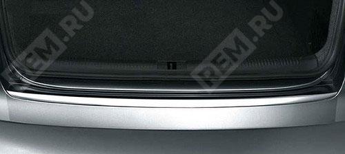Пленка защитная на порог заднего бампера, седан 8K5061197