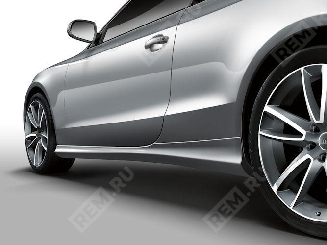 Накладки на пороги, грунтованные, Coupe/Cabrio 8T00716859AX