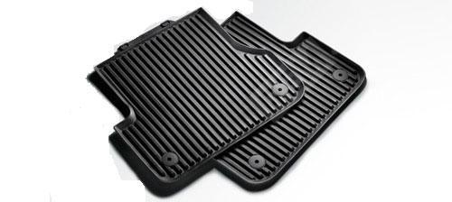 Ковры салона резиновые задние, Coupe/Cabrio 8T0061511041