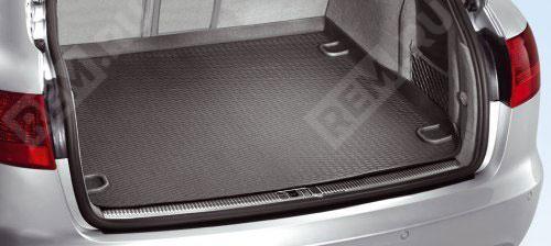 Ковер в багажник резиновый мягкий, Cabrio 8F0061160