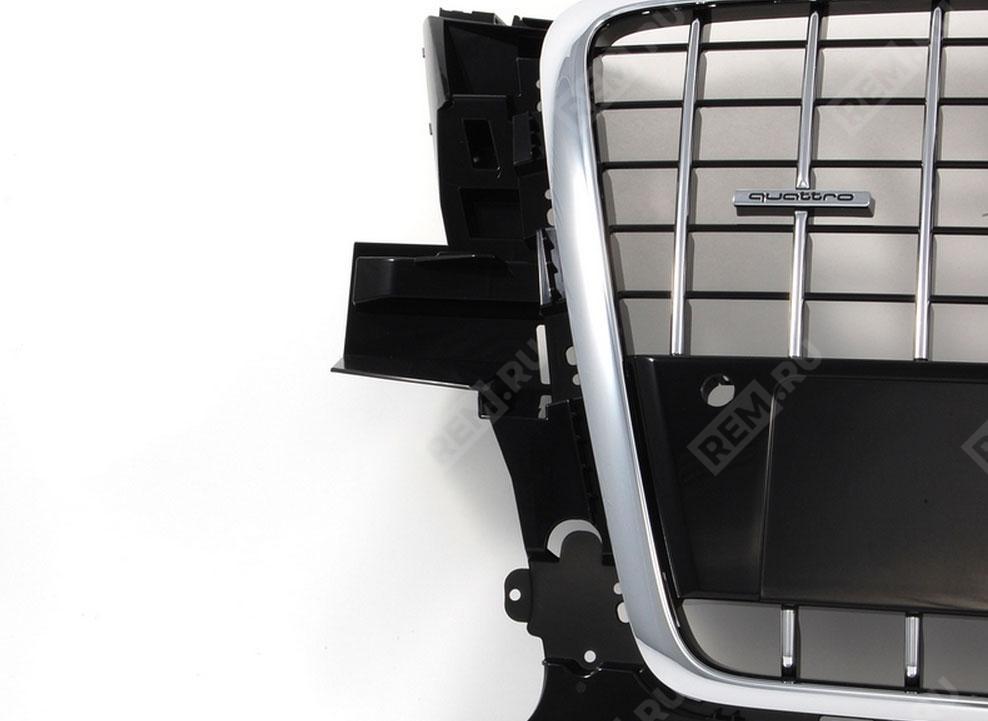 Решетка радиатора S-line (4-цилинд, с парктроником) 8R0853651C1QP