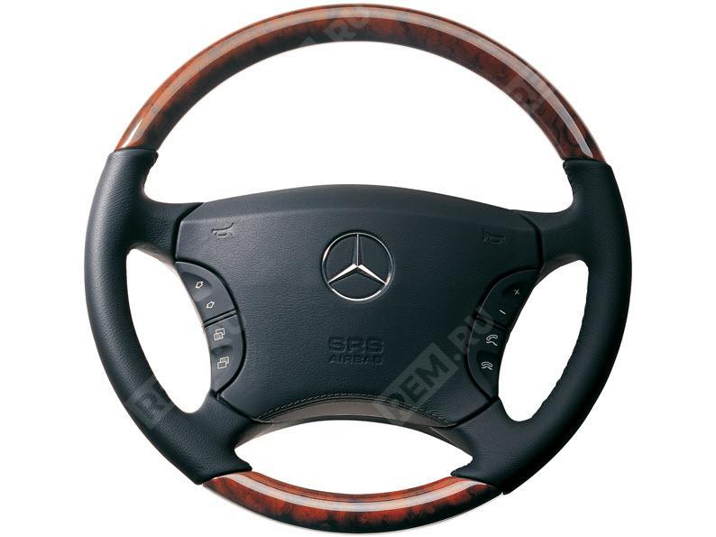 Рулевое колесо из дерева и кожи B66268389
