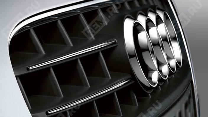 Молдинги решетки радиатора, хромированные 8J00713602ZZ