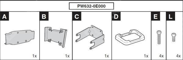 Крепление для RES PW6320E000