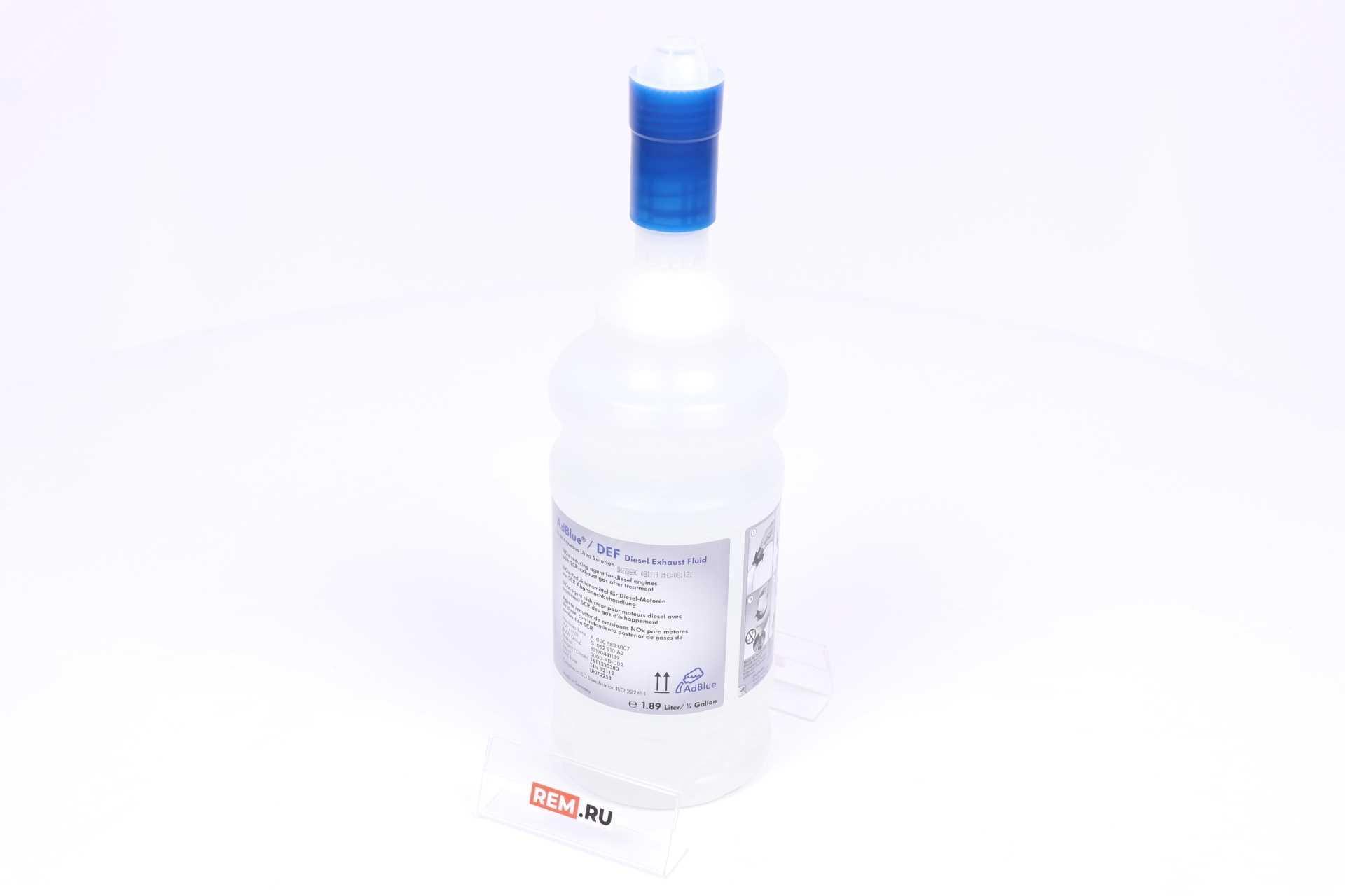 Фото Жидкость AdBlue (мочевина), 1.89Л A0005830107