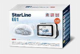 Фото Сигнализация StarLine E61 с обратной связью 999SLE61CAN