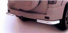 Фото Защита задняя уголки D76 мм, нержавеющая сталь 316300471502300