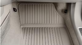 Фото Комплект резиновых ковров салона, черные (с 40 недели 17 года) 31693648