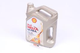 Фото Масло моторное Shell Helix Ultra 5W-40, 4Л 550055905