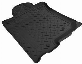 Комплект резиновых ковров салона с бортом, черные (5 мест) KFMNPLPO8852
