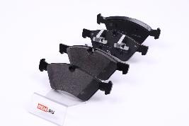 Фото Колодки тормозные передние A164420222064