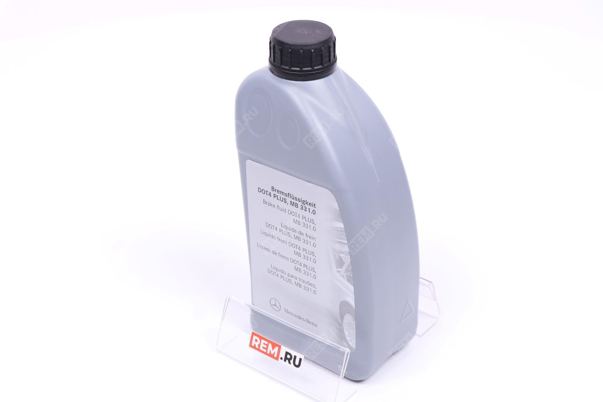 Фото Жидкость тормозная MB 331.0 1Л A000989080711