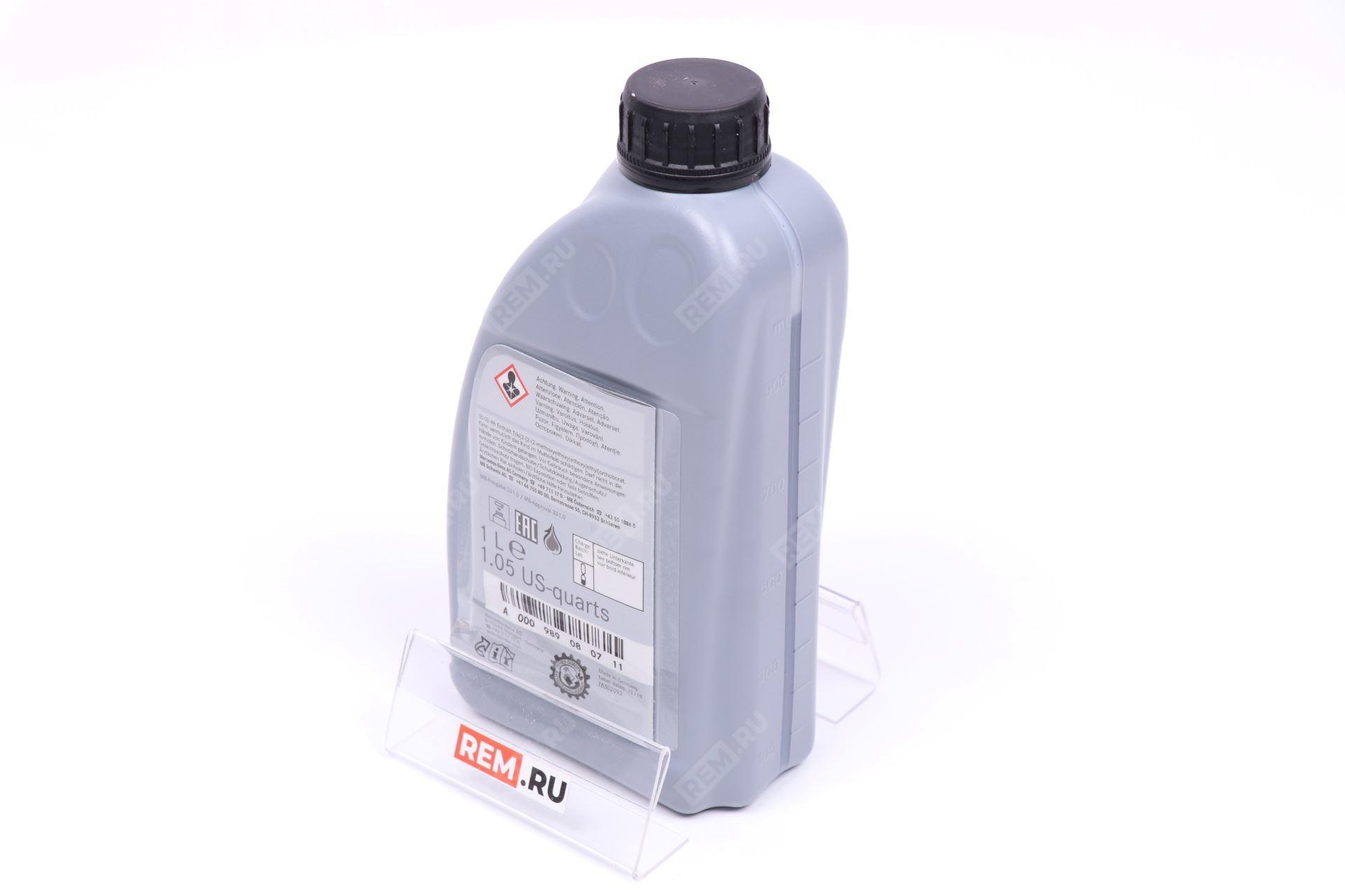 Жидкость тормозная MB 331.0 1Л A000989080711
