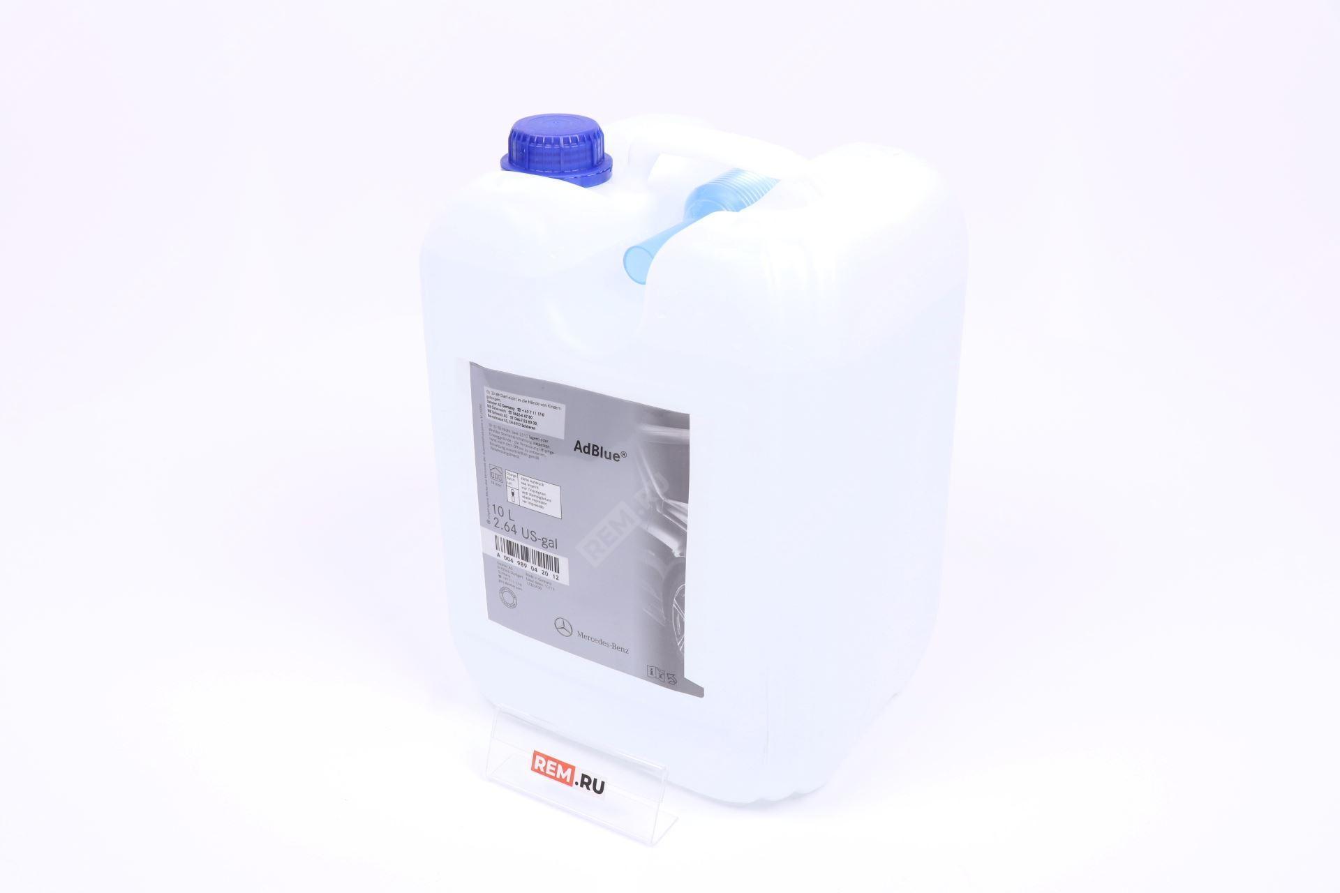 Фото Жидкость AdBlue мочевина 10 литров A004989042012