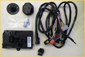 Проводка фаркопа 7/13 pin (подбирать по VIN) 9688AL