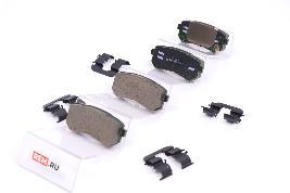 Колодки тормозные задние 583021MA40