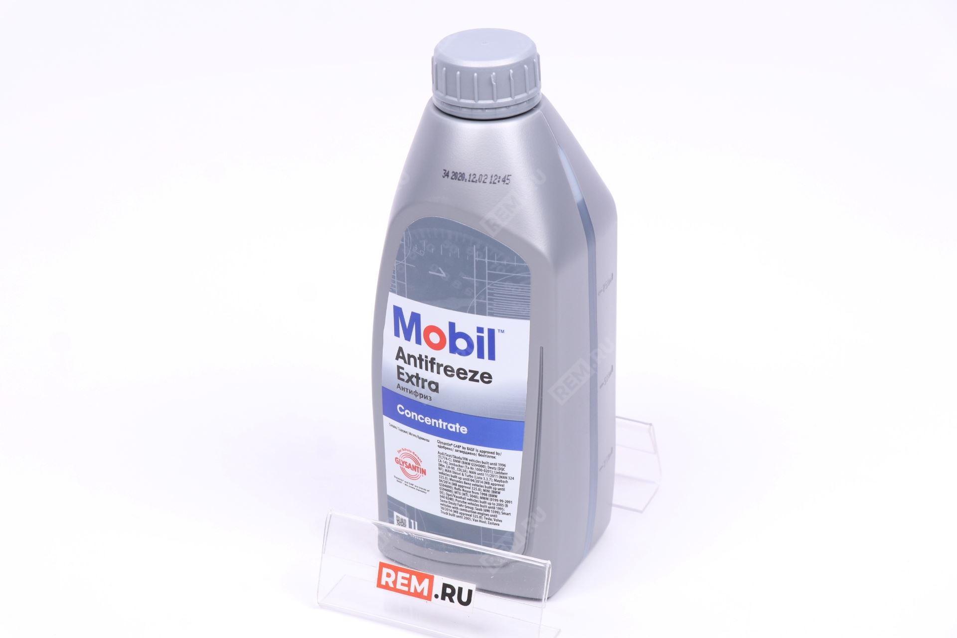 АНТИФРИЗ MOBIL EXTRA ( СИНИЙ ) 1L 151157R