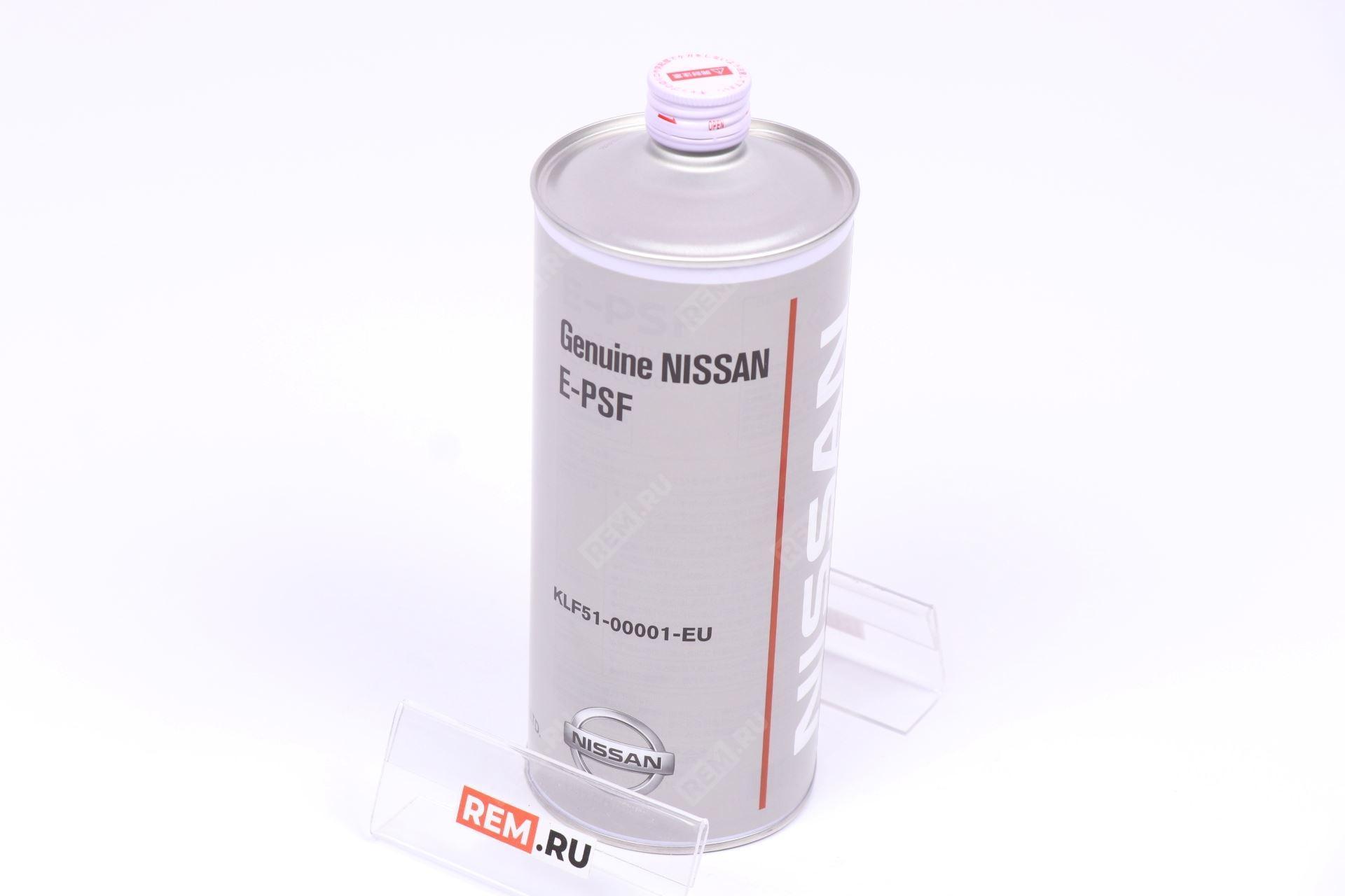 Фото Масло трансмиссионное Nissan E-PSF, 1Л KLF5100001EU