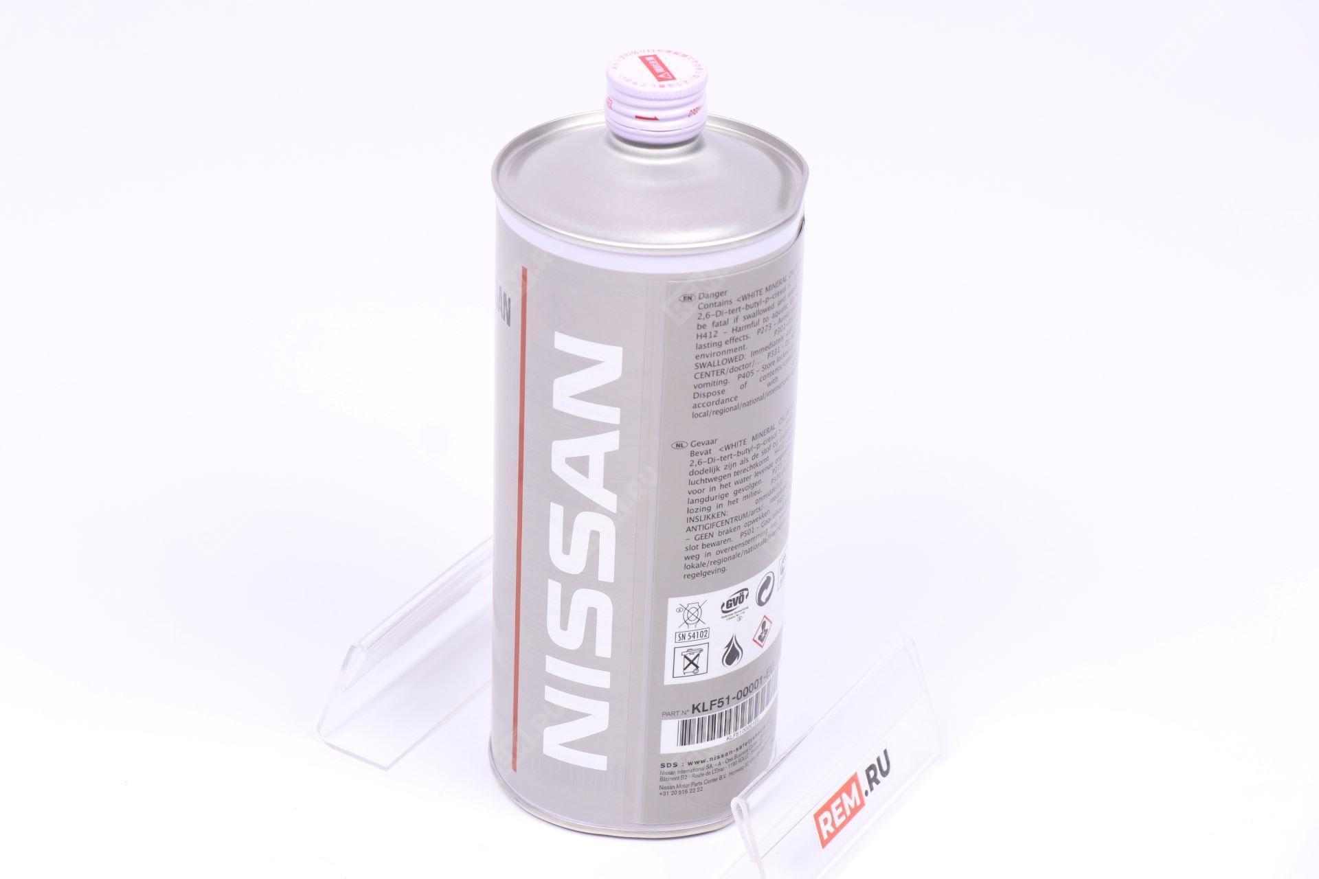 Масло трансмиссионное Nissan E-PSF, 1Л KLF5100001EU