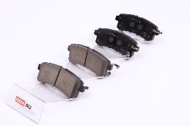Колодки тормозные задние D40601LB8E