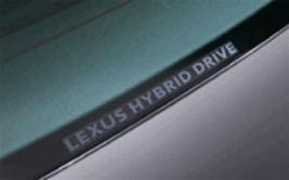 """Фото Наклейка на стекло """"Lexus hibrid drive"""" PT74700070"""